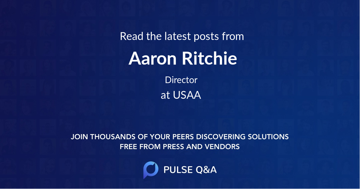 Aaron Ritchie