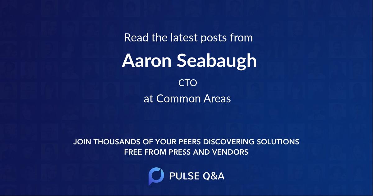 Aaron Seabaugh