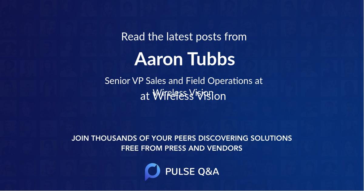 Aaron Tubbs