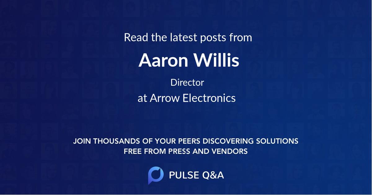 Aaron Willis