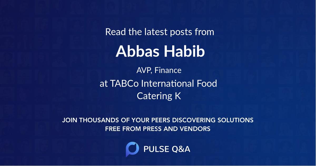 Abbas Habib