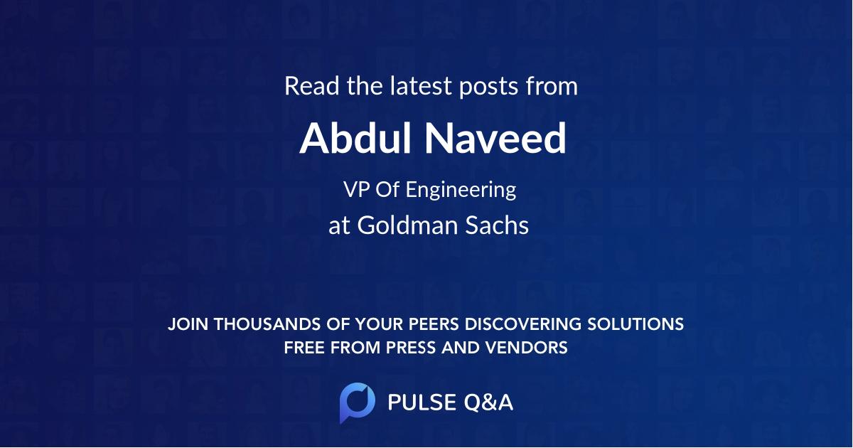 Abdul Naveed