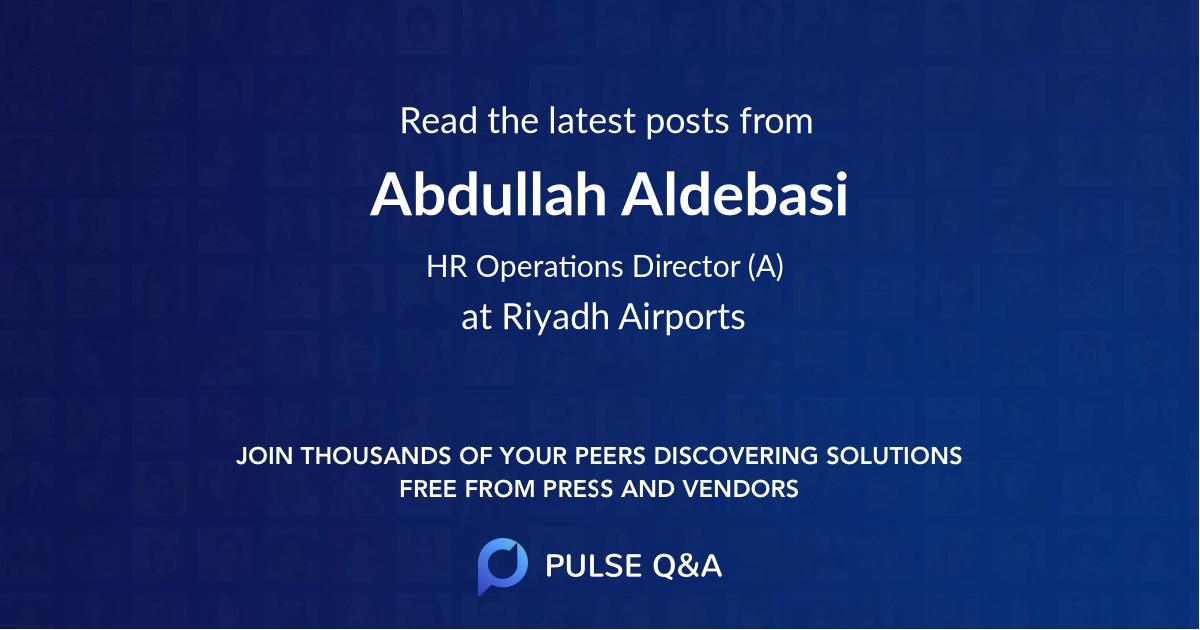 Abdullah Aldebasi