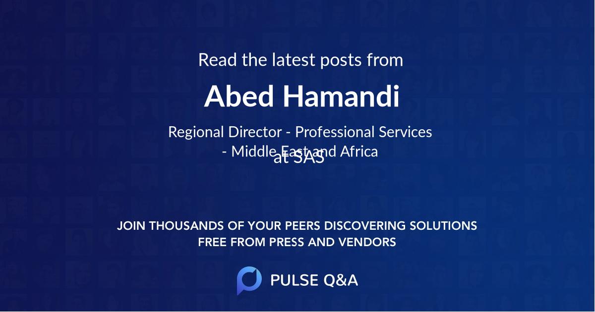Abed Hamandi