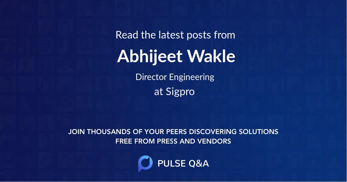 Abhijeet Wakle
