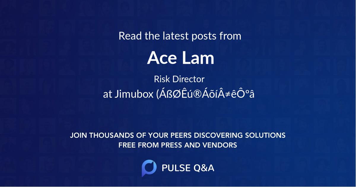 Ace Lam