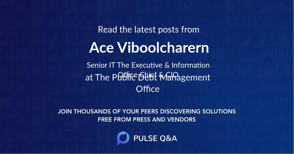 Ace Viboolcharern