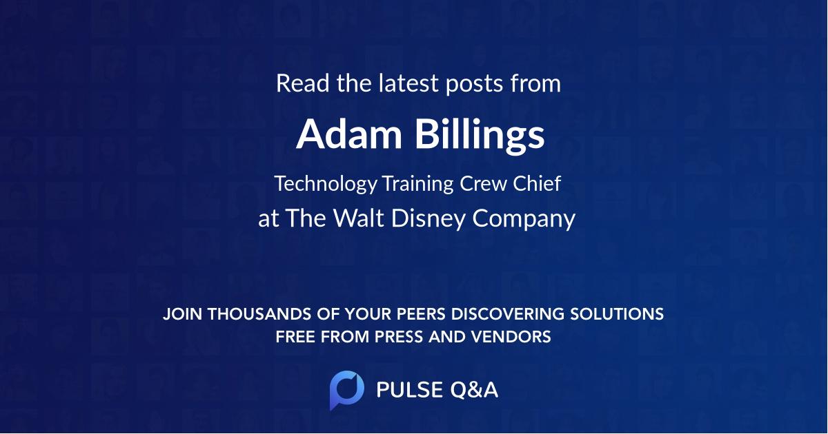 Adam Billings