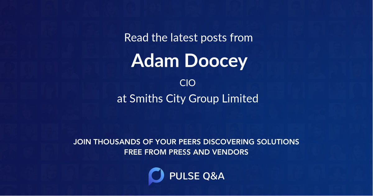 Adam Doocey
