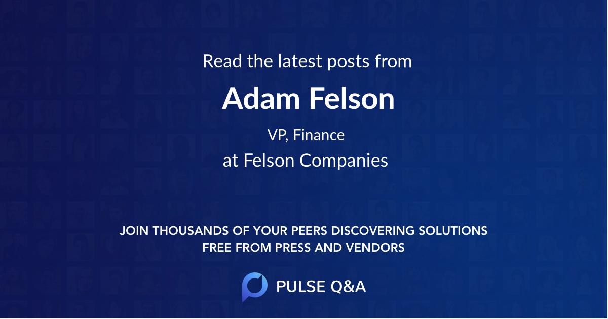 Adam Felson