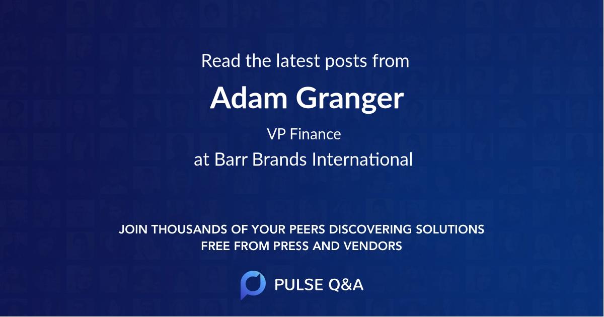 Adam Granger