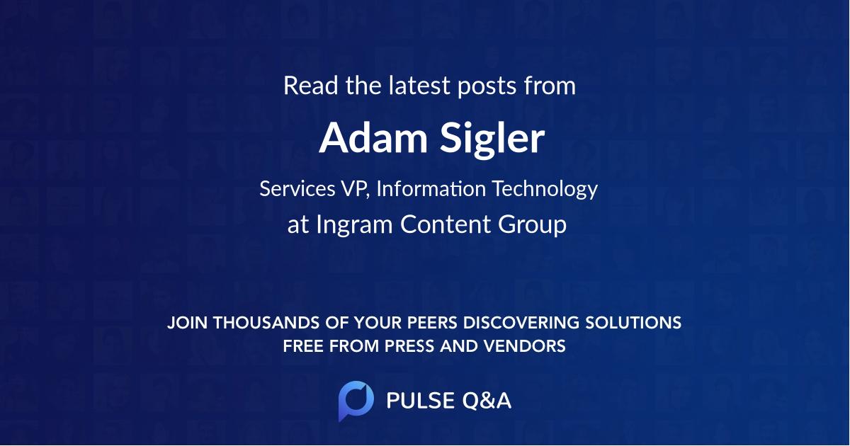 Adam Sigler