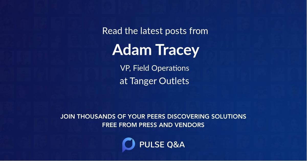 Adam Tracey