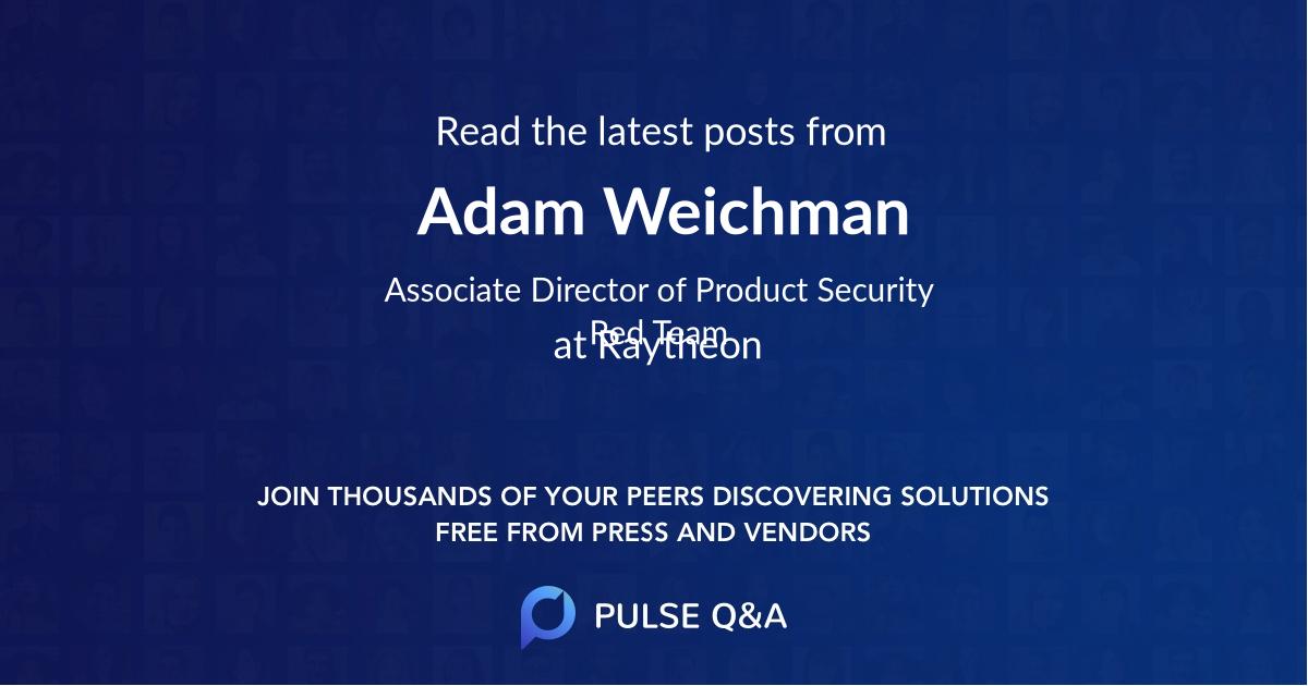 Adam Weichman