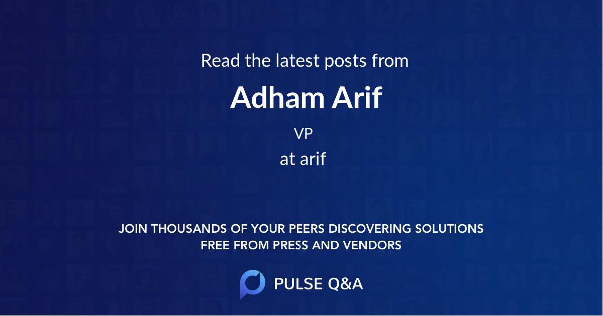 Adham Arif