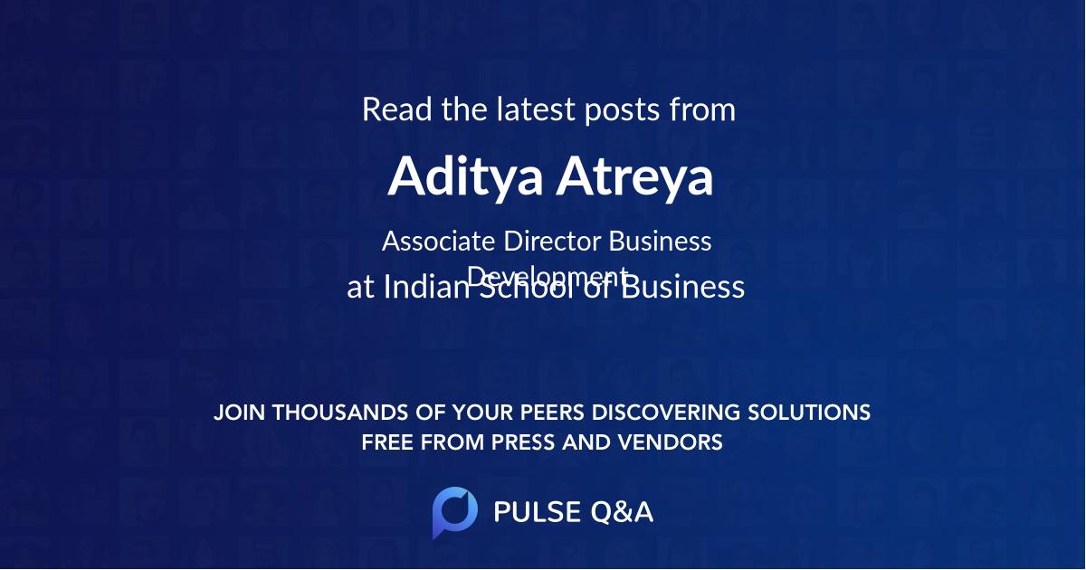 Aditya Atreya