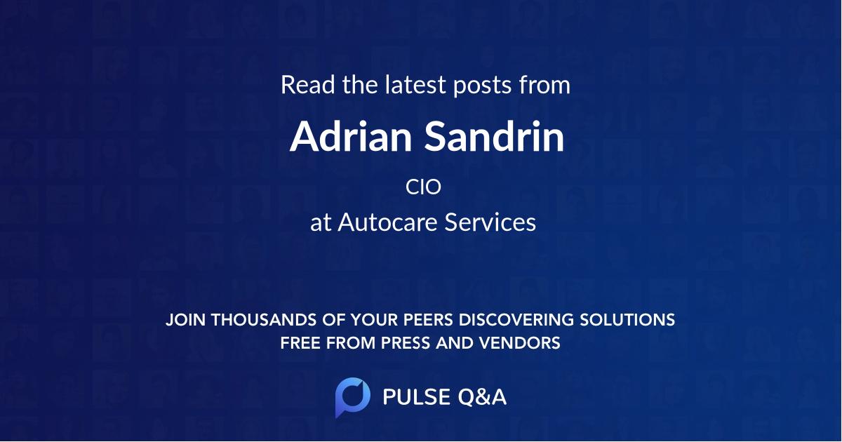 Adrian Sandrin