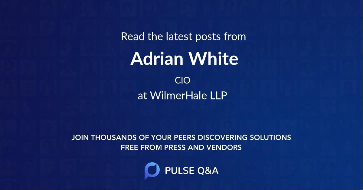 Adrian White