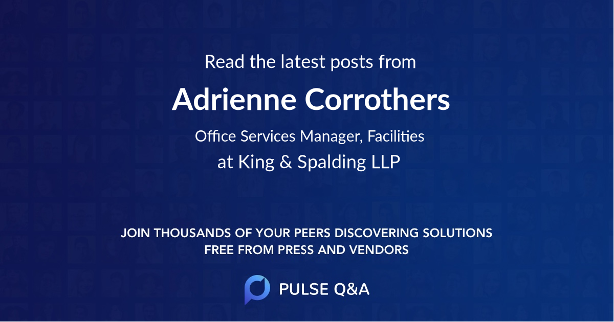 Adrienne Corrothers