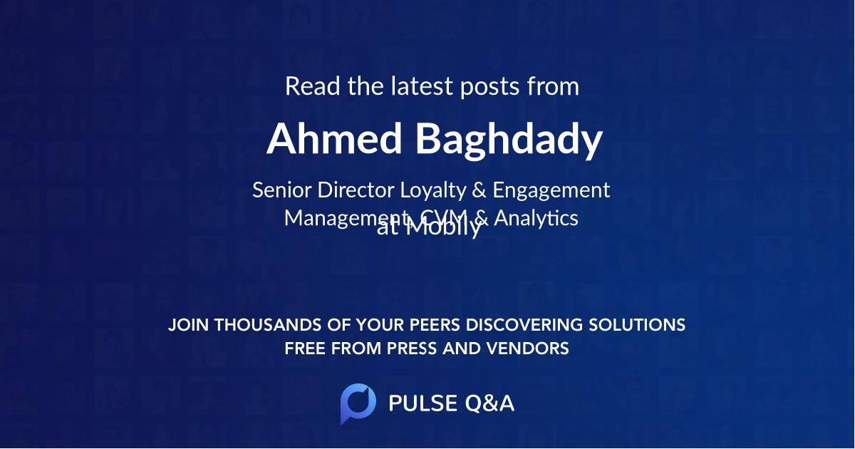 Ahmed Baghdady