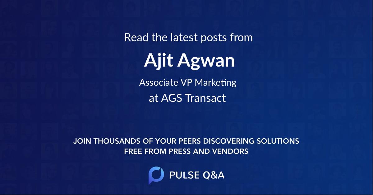 Ajit Agwan