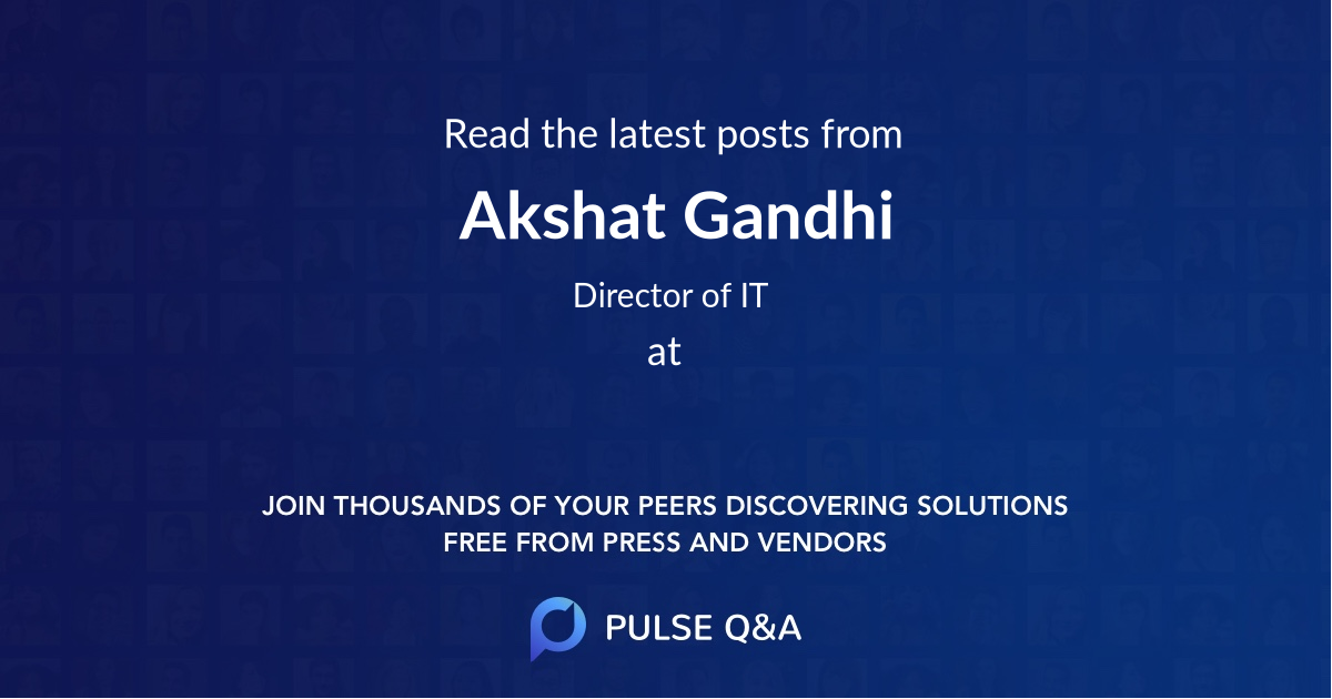 Akshat Gandhi