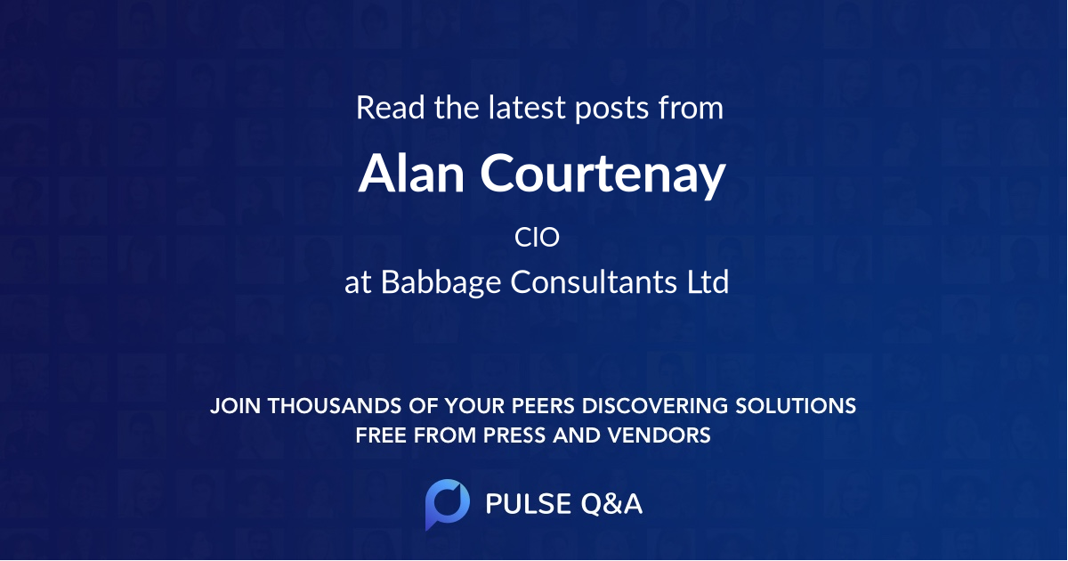 Alan Courtenay