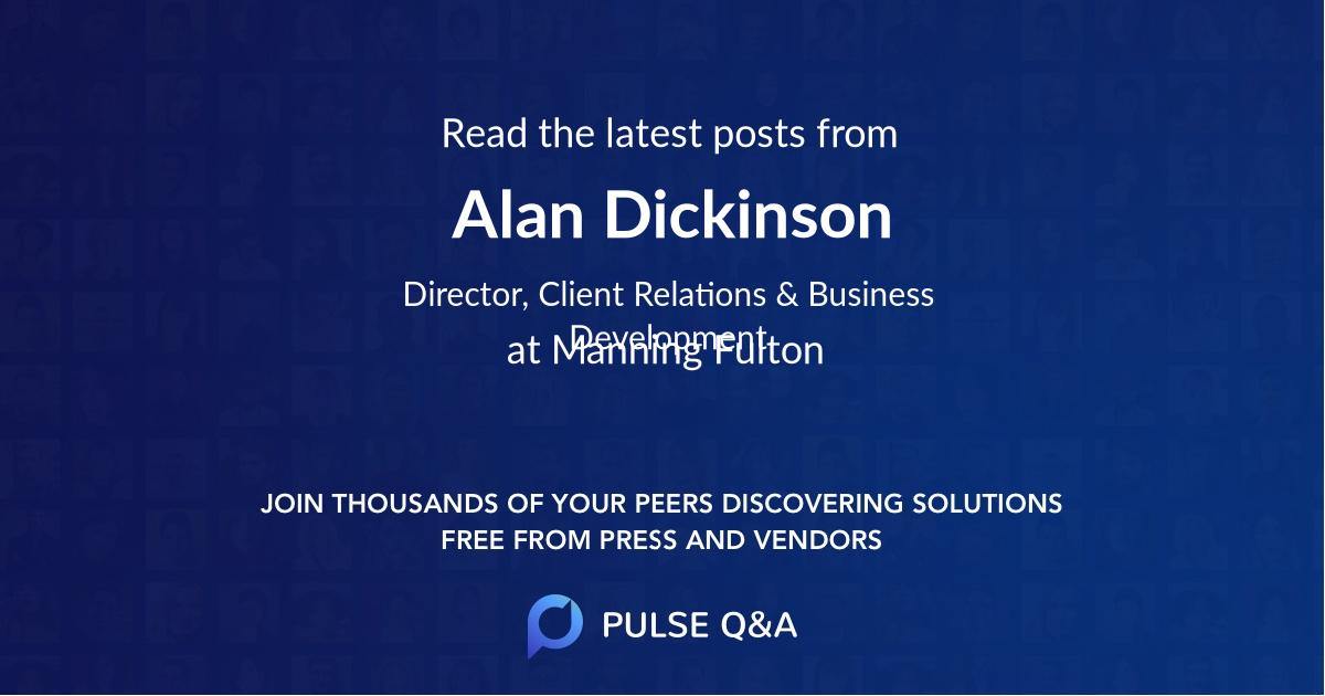 Alan Dickinson