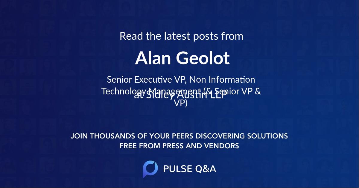 Alan Geolot