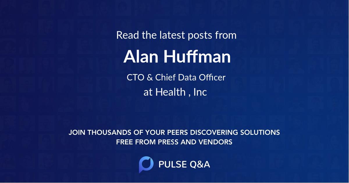 Alan Huffman