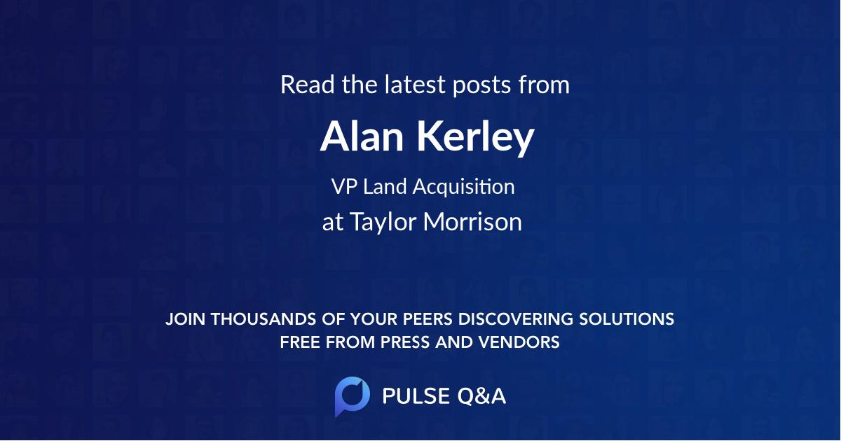 Alan Kerley