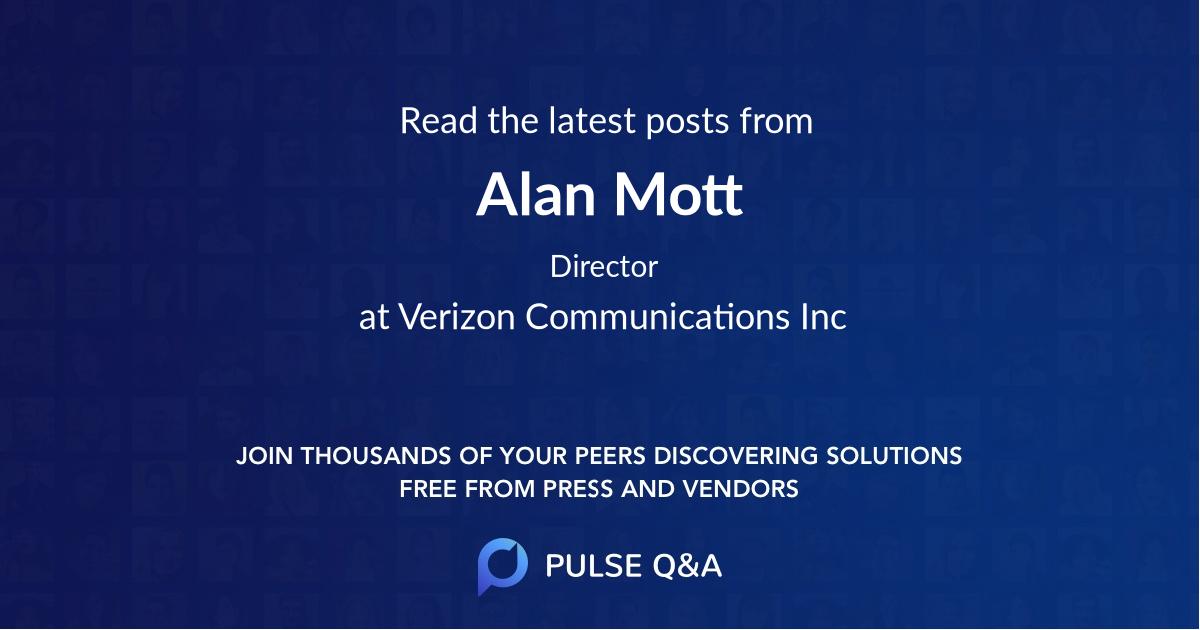Alan Mott
