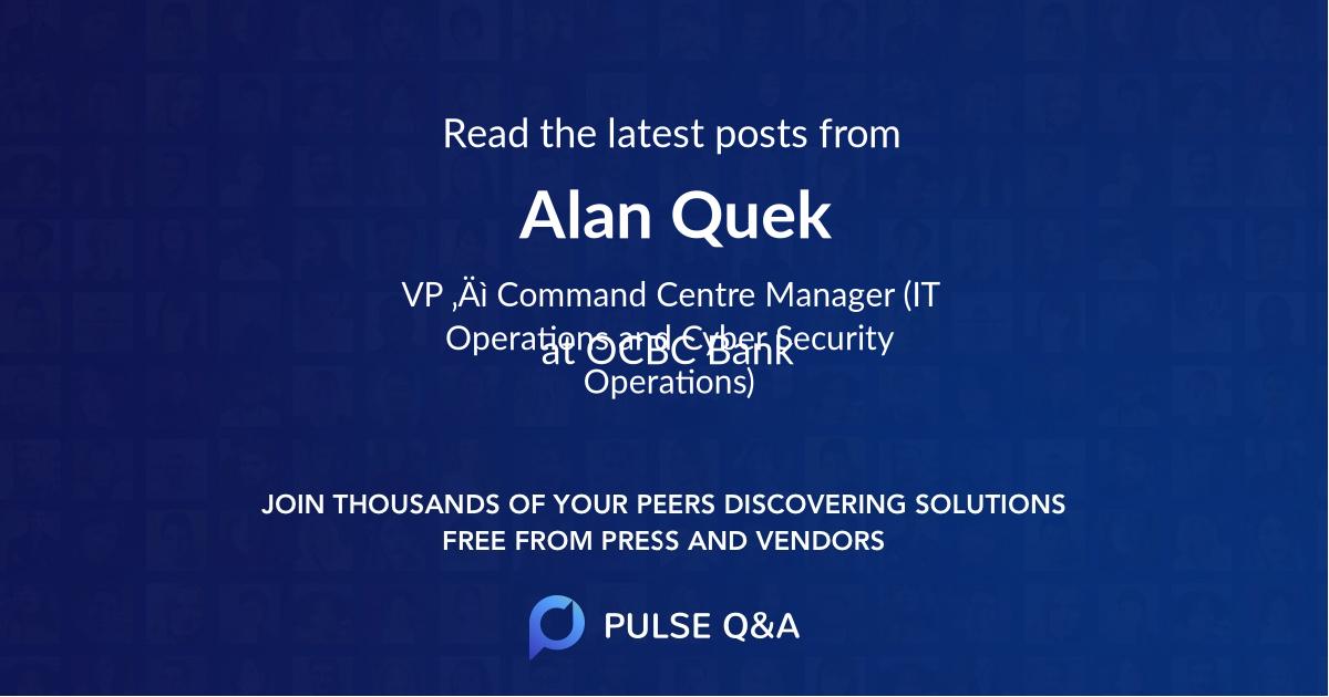 Alan Quek