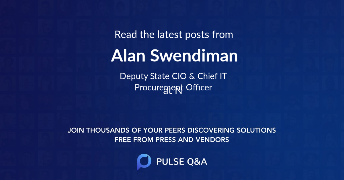 Alan Swendiman