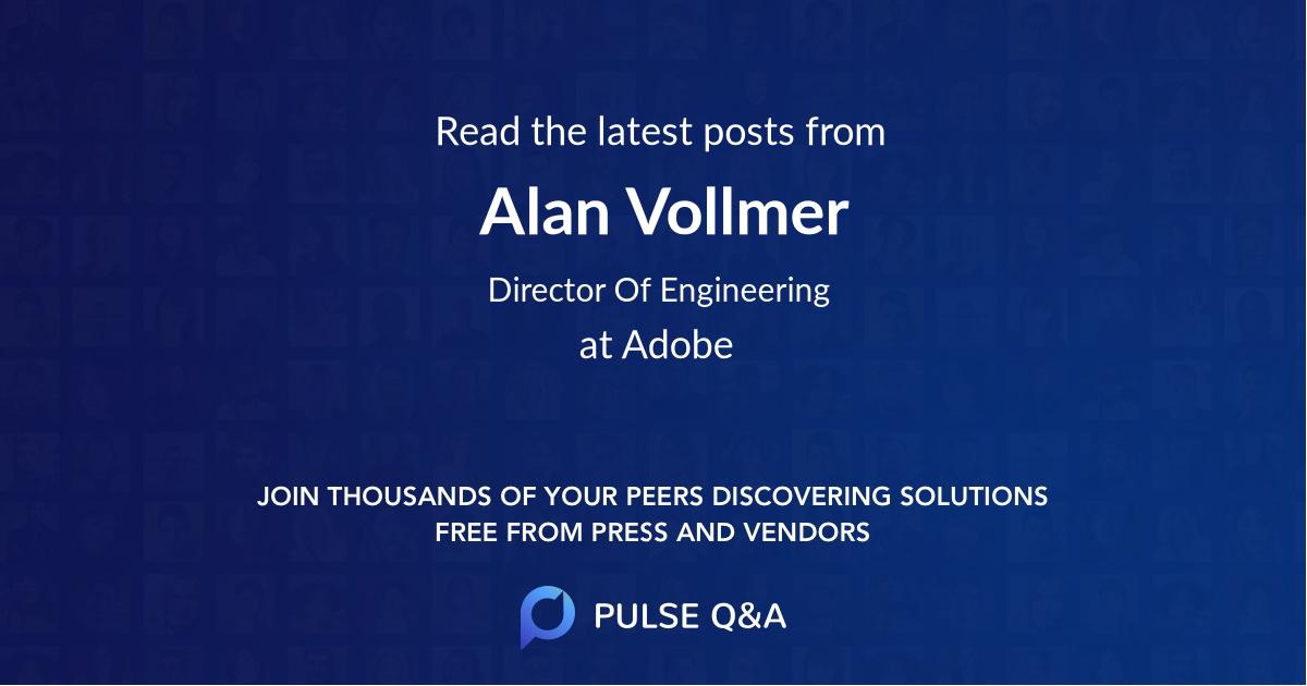 Alan Vollmer