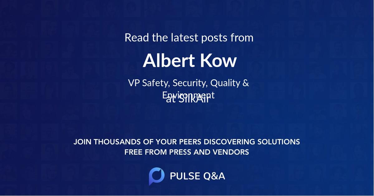 Albert Kow