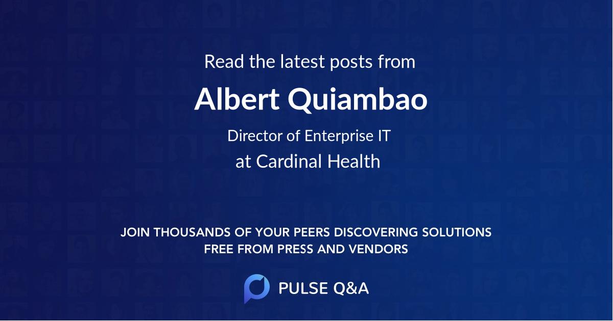 Albert Quiambao