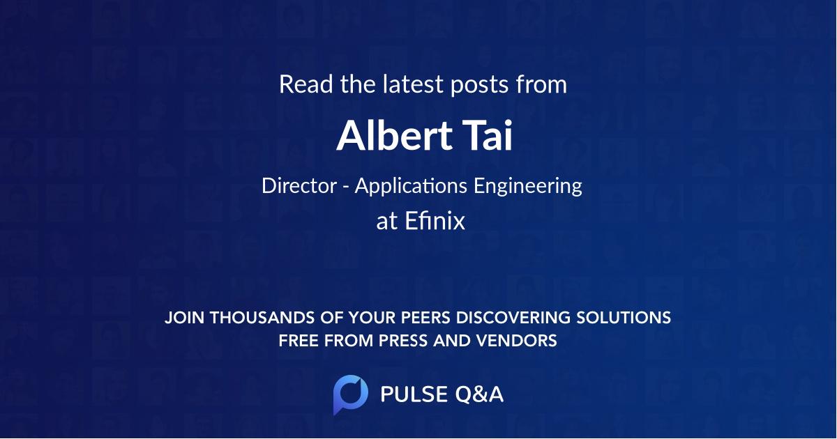 Albert Tai