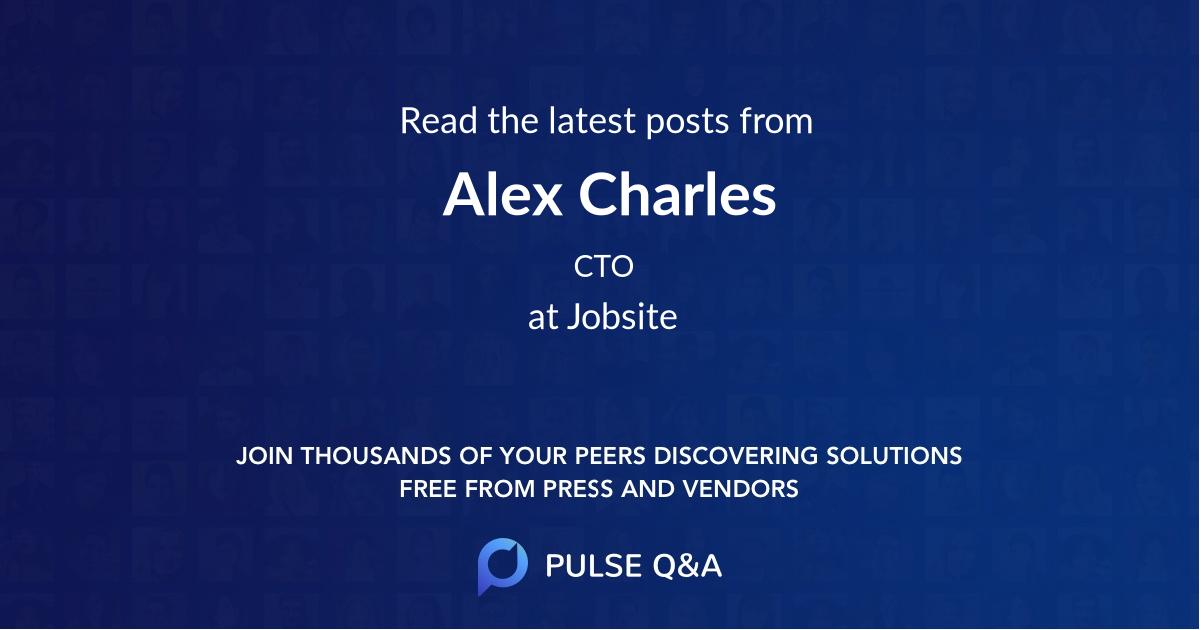 Alex Charles