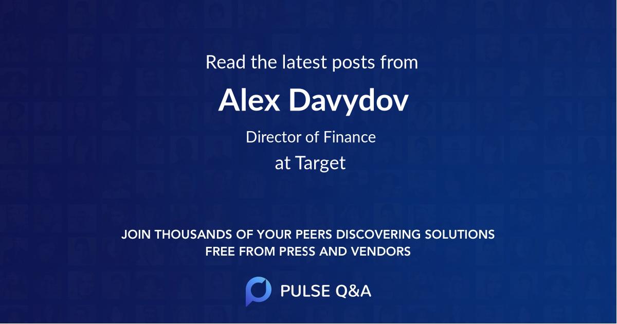 Alex Davydov