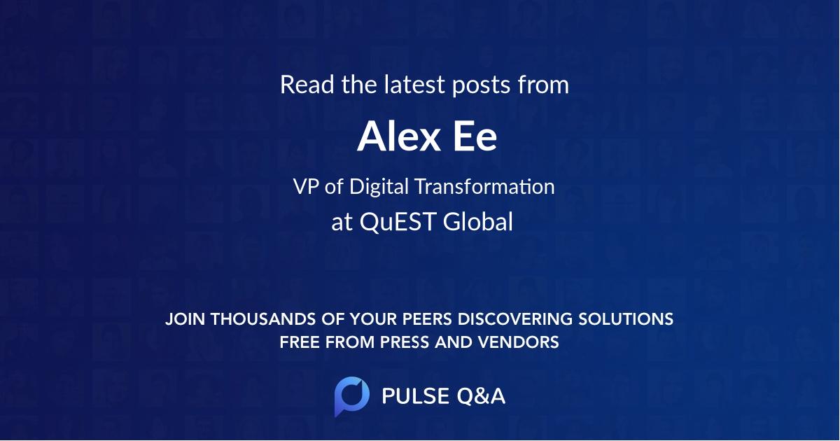 Alex Ee