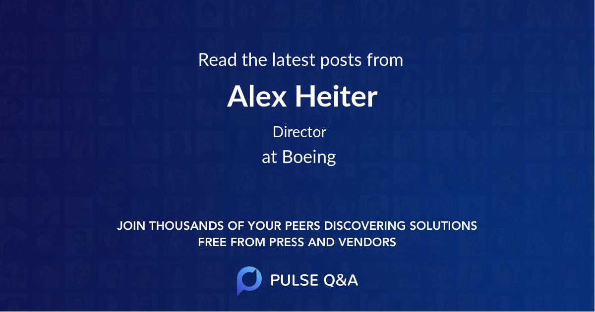 Alex Heiter