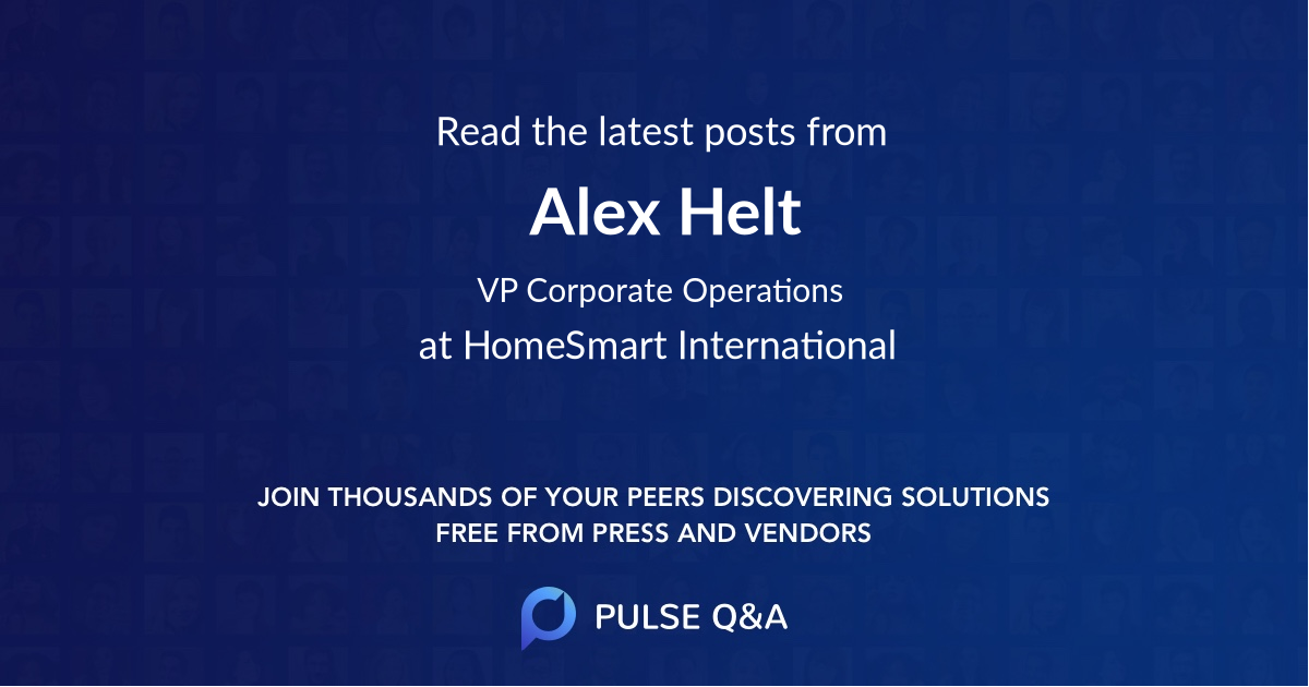 Alex Helt