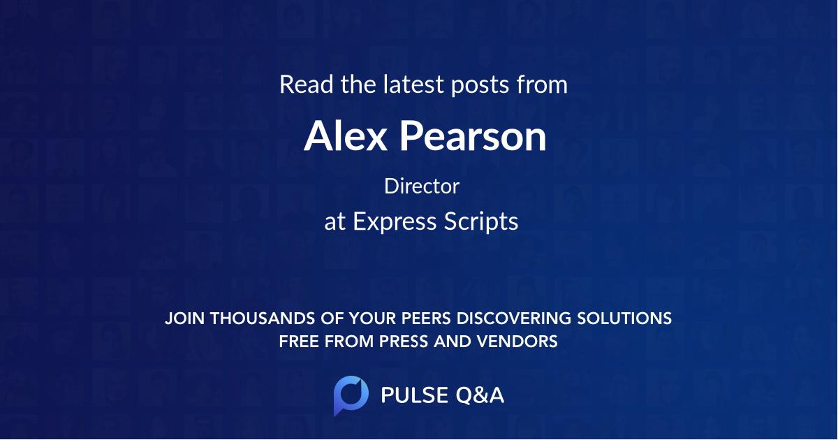 Alex Pearson