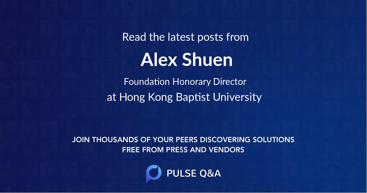 Alex Shuen