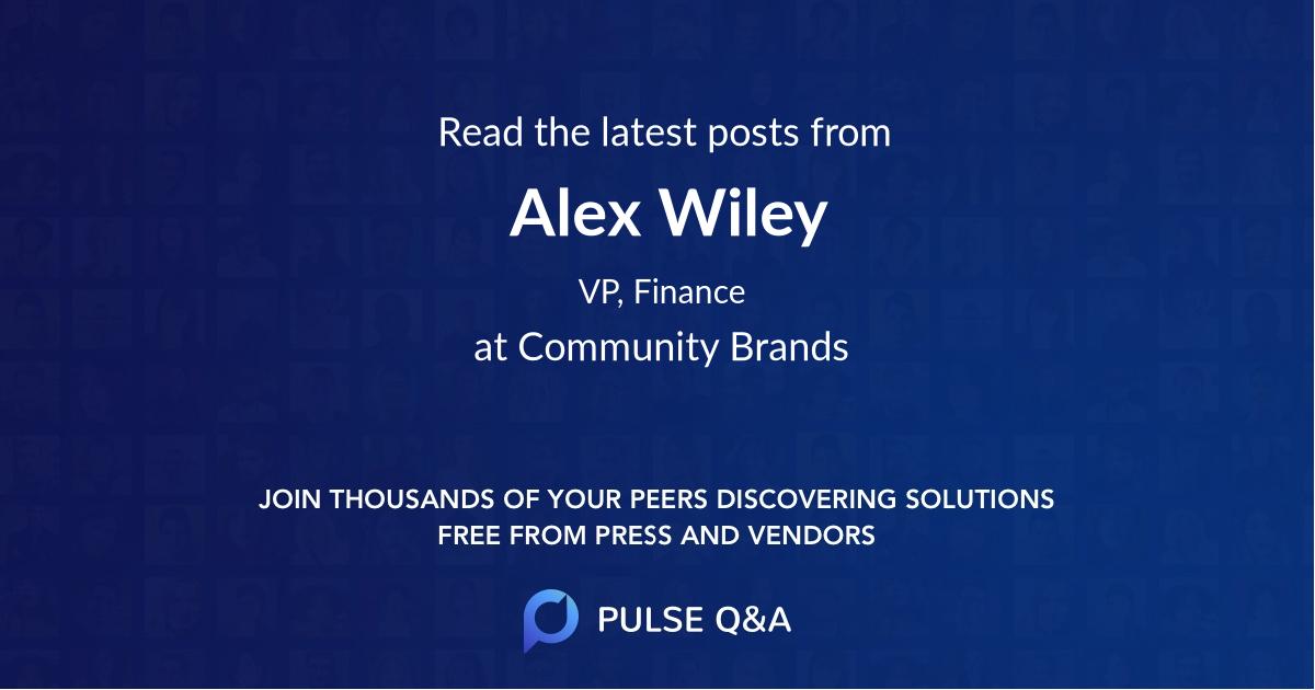 Alex Wiley