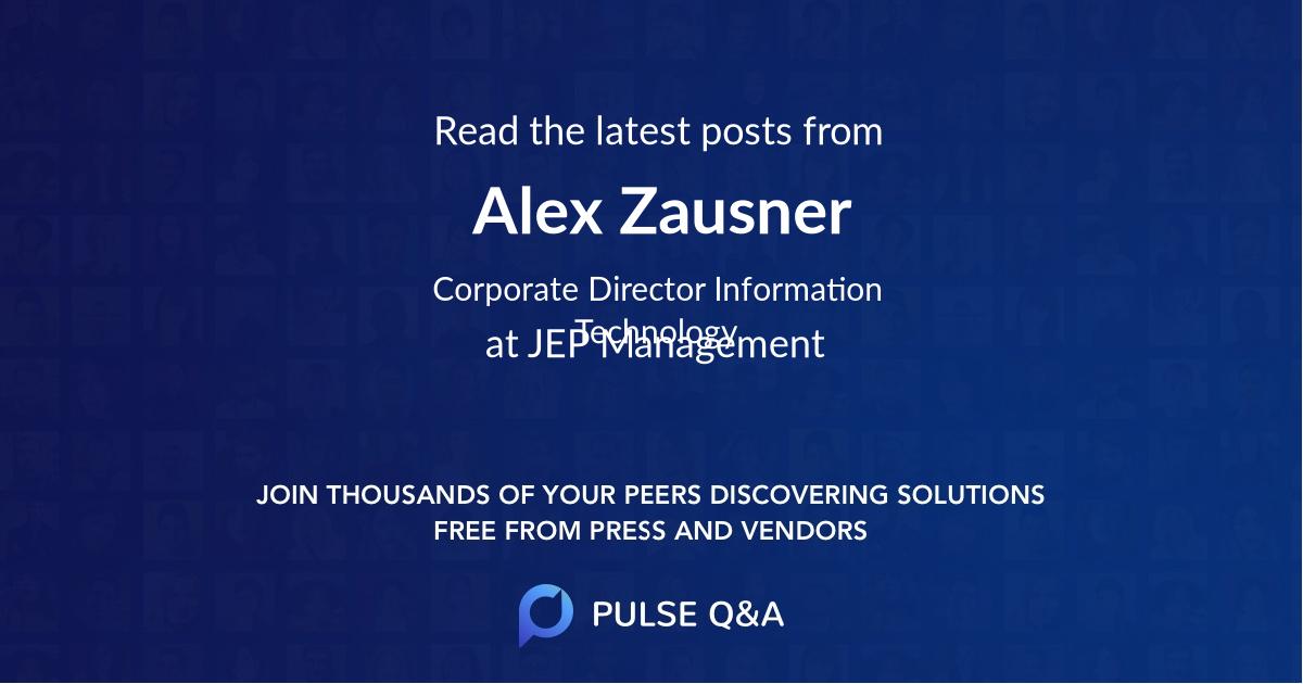 Alex Zausner