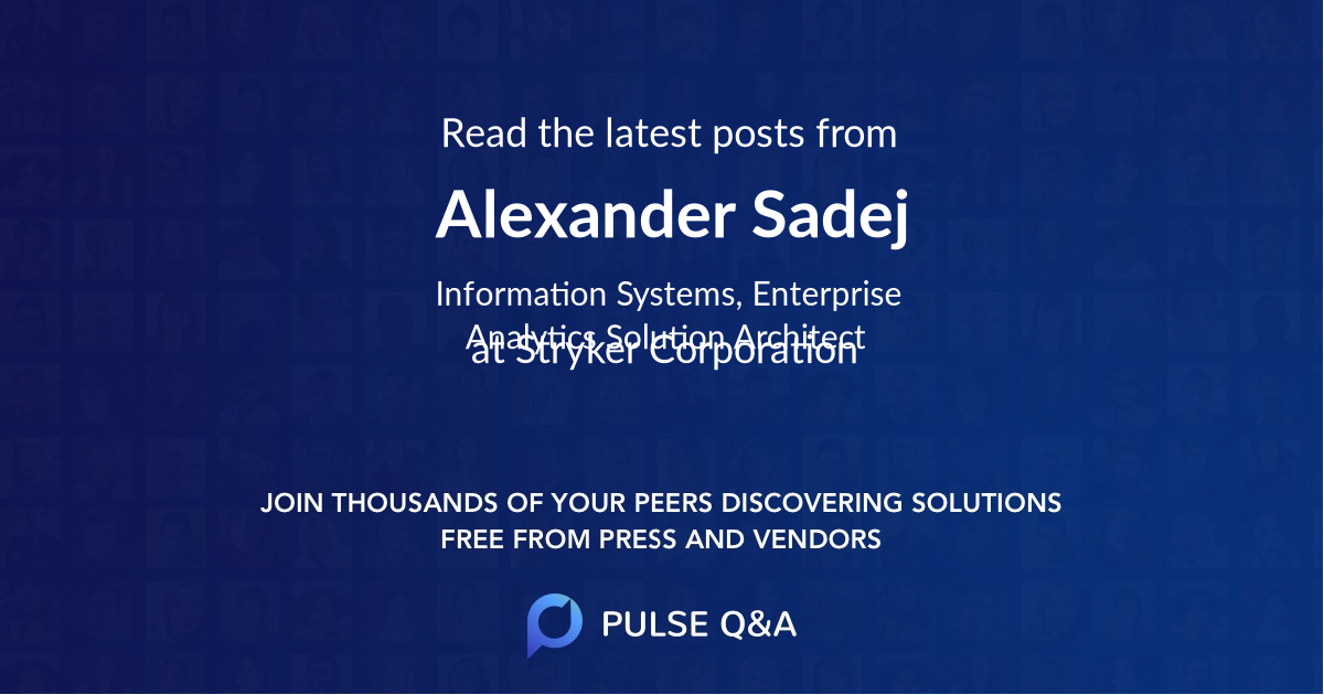 Alexander Sadej