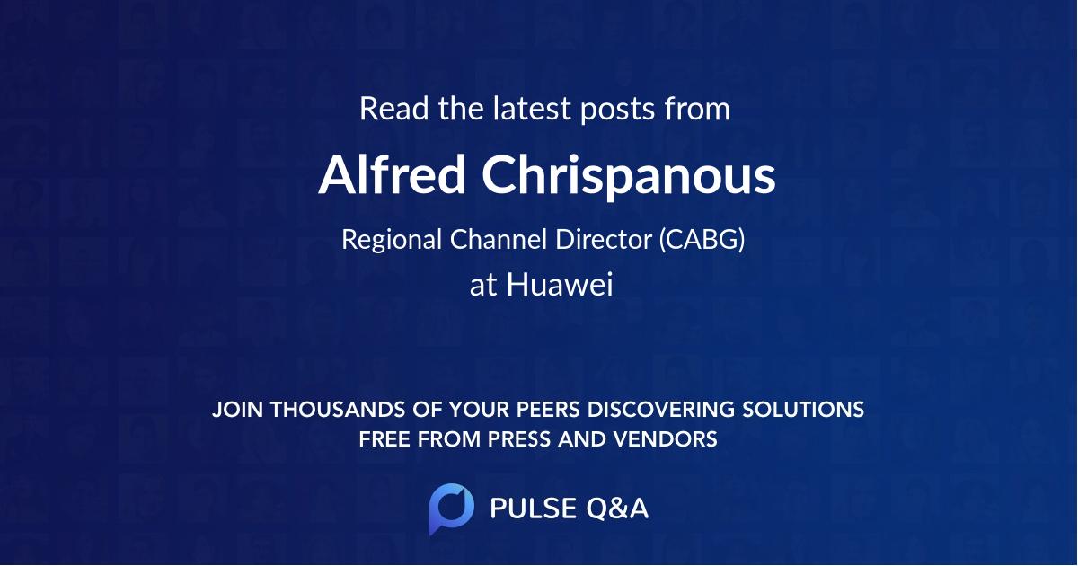 Alfred Chrispanous