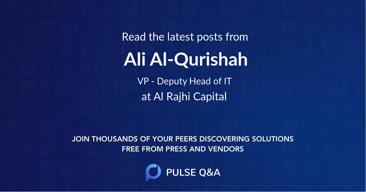 Ali Al-Qurishah